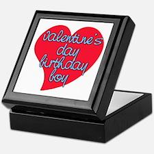 Valentine Day Birthday Boy Keepsake Box