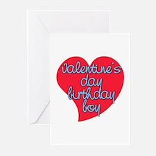Valentine Day Birthday Boy Greeting Cards (Pk of 1
