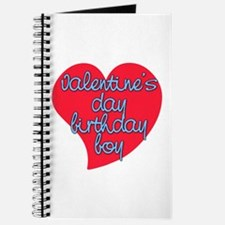 Valentine Day Birthday Boy Journal
