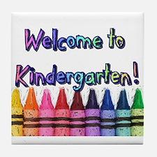 Kindergarten Tile Coaster