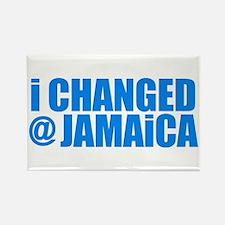 CHANGE AT JAMAICA Refrigerator Magnet