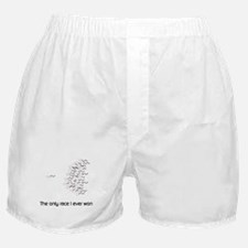 The only race I ever won Boxer Shorts