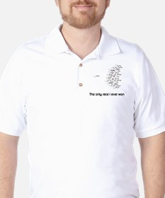 The only race I ever won Golf Shirt