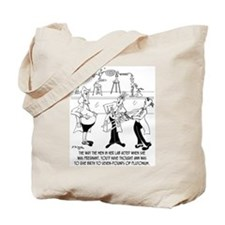 Fear of Pregnant Women Tote Bag