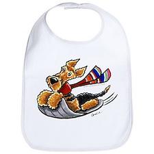 Airedale Terrier Sledding Bib
