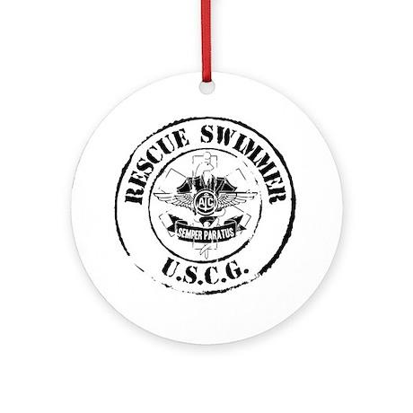 Rescue Swimmer (Ver 2) Ornament (Round)