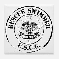 Rescue Swimmer (Ver 2) Tile Coaster