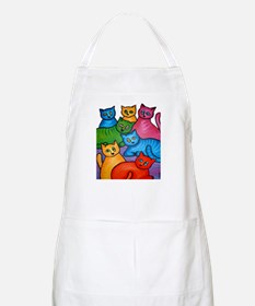One Cat Two Cat Apron