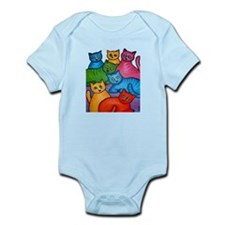 One Cat Two Cat Infant Bodysuit