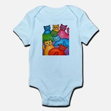 One Cat Two Cat Infant Bodysuit