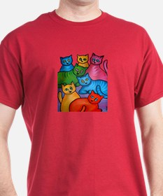 One Cat Two Cat T-Shirt