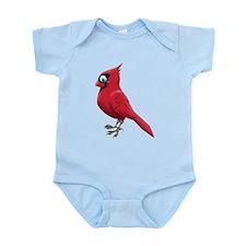 Red Smiley Face Infant Bodysuit