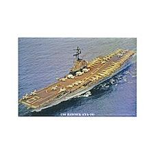 USS HANCOCK Rectangle Magnet