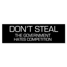 Ron Paul Don't Steal Bumper Bumper Sticker