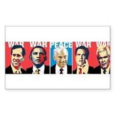 Ron Paul Peace Decal