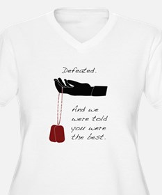 Defeated. T-Shirt