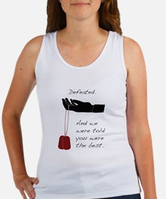 Defeated. Women's Tank Top