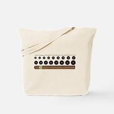 Cigar Ring Gauge Guide Tote Bag