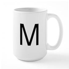 The Letter M Mug