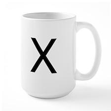 The Letter X Mug
