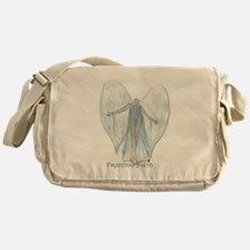 Angel, trusting faith Messenger Bag