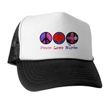 Peace Love Nurse Hat