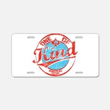 One of A kind 2 Aluminum License Plate
