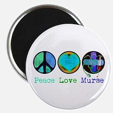Peace Love Murse Magnet