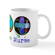 Peace Love Murse Mug