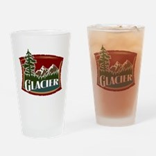 Glacier Mountains Drinking Glass