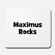Maximus Rocks Mousepad