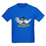 Owl Beard Chickens Kids Dark T-Shirt
