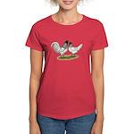 Owl Beard Chickens Women's Dark T-Shirt