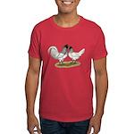 Owl Beard Chickens Dark T-Shirt
