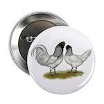 "Owl Beard Chickens 2.25"" Button (10 pack)"