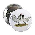 """Owl Beard Chickens 2.25"""" Button"""