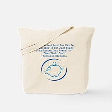 Cute Piggy bank Tote Bag