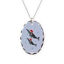 Santa - Whale Necklace