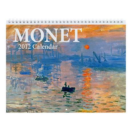 Monet Wall Calendar v2