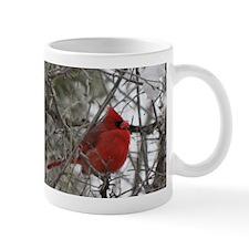 Pretty Red Bird Mug