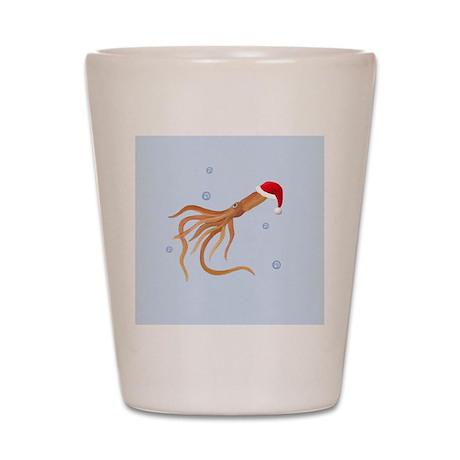 Santa - Squid Shot Glass