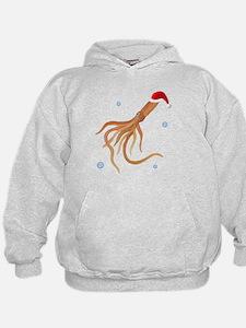 Santa - Squid Hoodie