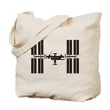 International space station Canvas Totes
