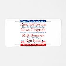 The Republican Candidates Are a Joke Aluminum Lice