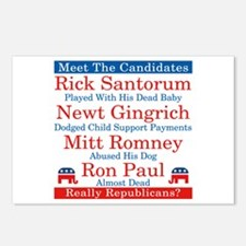 The Republican Candidates Are a Joke Postcards (Pa