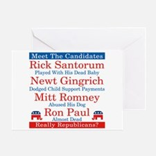 The Republican Candidates Are a Joke Greeting Card