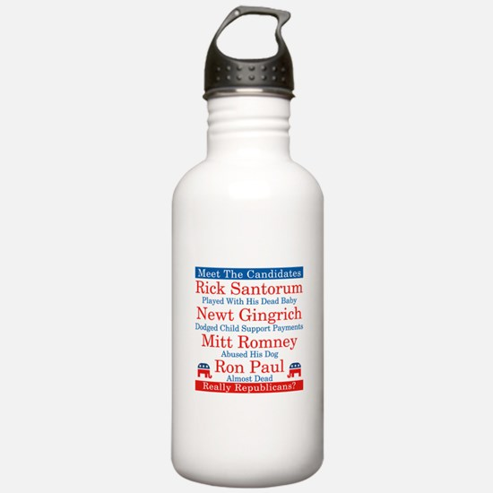 The Republican Candidates Are a Joke Water Bottle