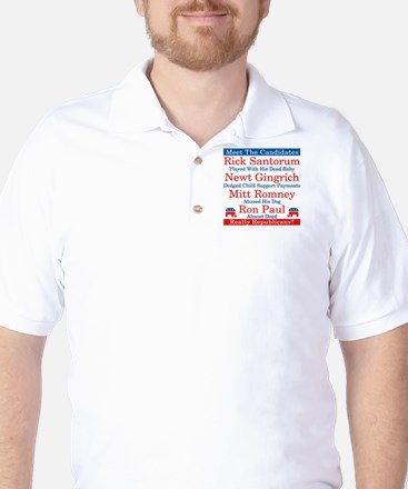 The Republican Candidates Are a Joke Golf Shirt