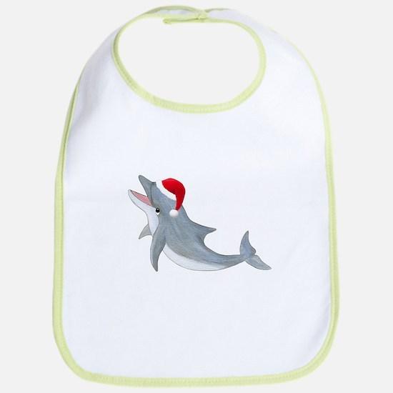 Santa - Dolphin Bib
