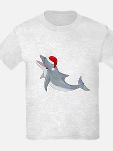 Santa - Dolphin T-Shirt